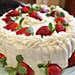 Luscious Strawberry Cake