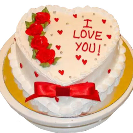 Send Heart Shaped Cakes to Canada