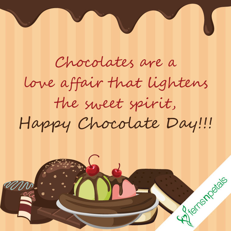 chocolate day wishes quotes