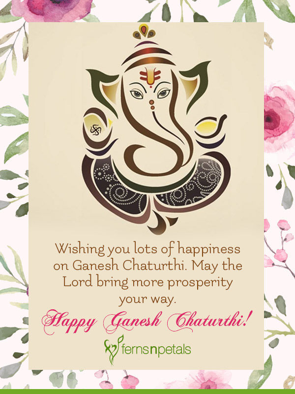 happy ganesh chaturthi wishes images for her