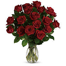 18 Red Roses Bouquet: Get Well Soon Flowers to Australia