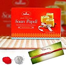 Bhai Dooj With Soan Papdi: Bhai Dooj Gift Delivery in Australia