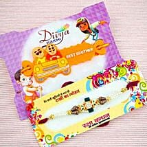Bhaiya Bhatija Rakhi Set: Rakhi for Kids Australia
