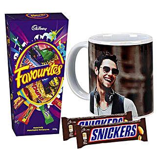 Chocolates With Personalised Mug Combo: Personalised Mugs Australia