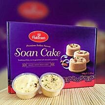 Delicious Soan Cake 500g: Birthday Gifts Delivery in Victoria