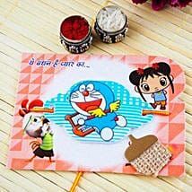 Doraemon kids Rakhi: Send Rakhi for Kids to Australia
