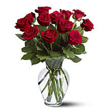Dozen Red Roses: Get Well Soon Flowers to Australia