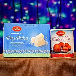 Dry Petha And Gulabjamun Tin: Birthday Gifts to Australia
