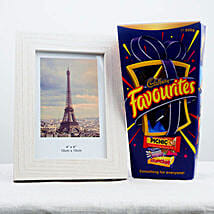 Favorite Chocolates N Photo Frame: Bhai Dooj Gifts to Australia