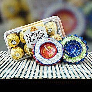 Ferrero Rocher With Diya: Diwali Gifts to Australia