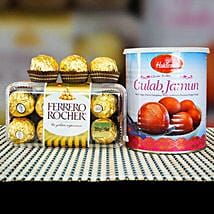 Ferrero Rocher With Gulab Jamun: Birthday Gifts to Melbourne