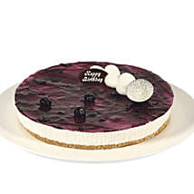 Fresh Blueberry Cheesecake: Order Cakes in Brisbane