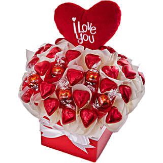 I Love You Chocolates Gift Hamper: Send Valentines Day Gifts to Australia