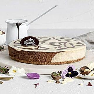 Marble Mud Cake: Send Birthday Gifts to Australia