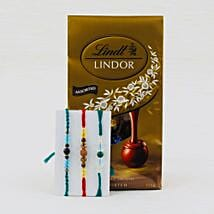 Pyar Bhara Rista Rakhi With Lindt chocolates: Rakhi with Chocolates to Australia