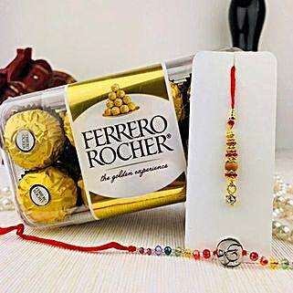 Rakhi With Ferrero Rocher: Rakhi with Chocolates to Australia
