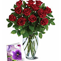 Red Roses Greetings: Rose Day Gift Delivery in Australia