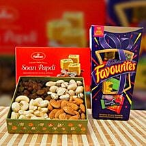 Soan Papdi Mix Dry Fruit and Cadbury Favourites: Birthday Gifts to Melbourne
