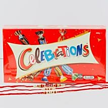 Veera Three Rakhi Set With Celebration Chocolate: