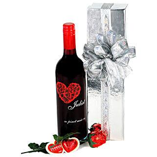 Wine N Chocolates Hamper: Valentine's Day Gift Delivery in Australia