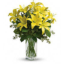 Yellow Blossom: Get Well Soon Flowers to Australia