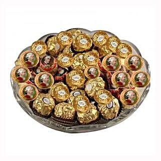 Mozart Rocher Platter: Corporate Hampers to Belgium
