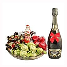 Sweet Me Up With Sparkling Wine: Corporate Hampers to Belgium