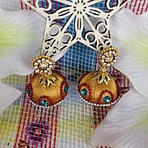 Attractive Thread Earrings: Send Jewellery to Canada