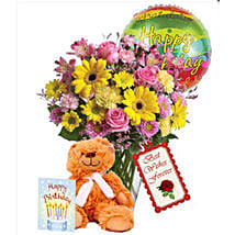 Birthday combo Special: Send Birthday Flowers to Canada