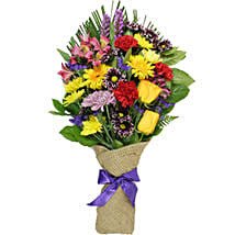 Brighten Your Day Mixed Flower Bouquet: Send Gift to Canada Same Day Delivery