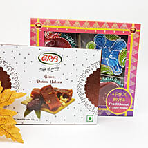 Diwali Diyas And Sweets Combo: Send Diwali Gifts to Toronto