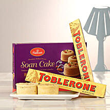 Duo Toblerone Bars N Soan Cake: Valentine's Day Gifts to Canada