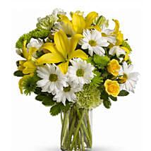 Fresh Flowers Bouquet: Gerberas Flower Delivery Canada