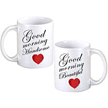 Good Morning Couple Mugs: Anniversary Gifts Brampton