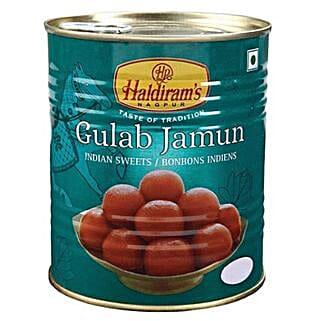 Haldiram Gulab Jamun 1 Kg: Send Sweets to Canada