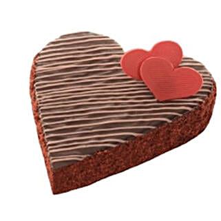Heartshape Chocolate Truffle Cake: Valentine's Day Cakes to Canada