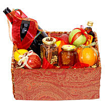 Mulled Wine Basket: Valentine's Day Gift Delivery in Canada
