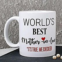 Personalized Best Mother In Law Mug: Mother's Day Gift Delivery in Canada