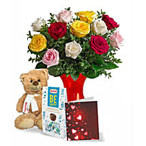Teddy N Chocolate Greets: Valentine's Day Flower Delivery in Canada