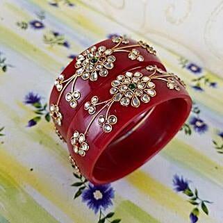 Traditional Designer Bangles: Send Jewellery to Canada