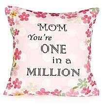 Worlds Best Mom Cushion: Mother's Day Gifts to Canada