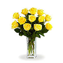 Yellow Roses: Gifts for Father in Canada