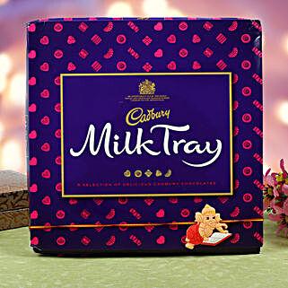Kids Rakhi Cadbury Milk Chocolate Hamper: Gifts to Croatia