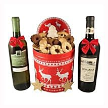 Christmas Unlimited Cookies Gift Basket: Gifts to Denmark