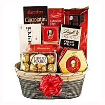 The Sweetvaganza Gift Basket: Send Gifts to Denmark