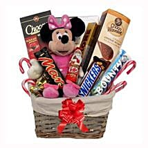 Christmas With Minnie Mouse Gift Basket: Corporate Gifts to Finland