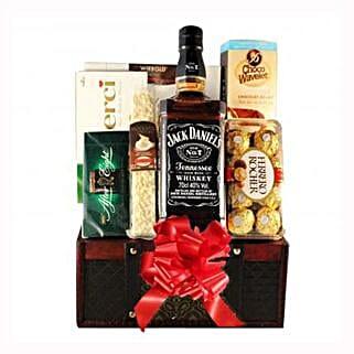 Jack Daniels Gift Basket: Gifts to France