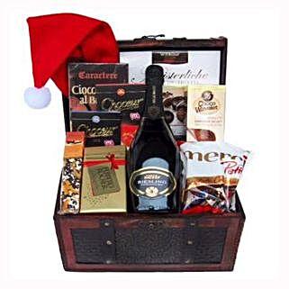 Ravishing Success Christmas Gift Basket: Corporate Gifts to France