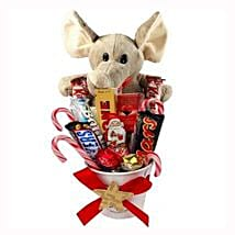 Sweet Elephant Christmas Bucket: Corporate Gifts to France