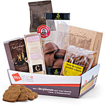100 Belgian Coffee Moments with Chocolates: Send Gift Baskets to Germany